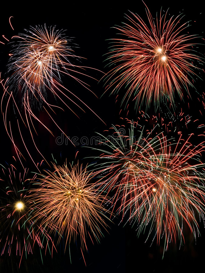 Download Feuerwerke stockbild. Bild von ehre, firecracker, feuerwerke - 854343