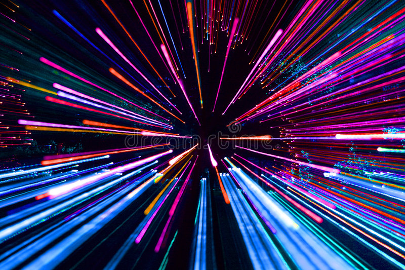Feuerwerke in den multi Farben lizenzfreie stockfotografie
