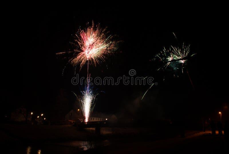 Feuerwerksraketen stockfotografie