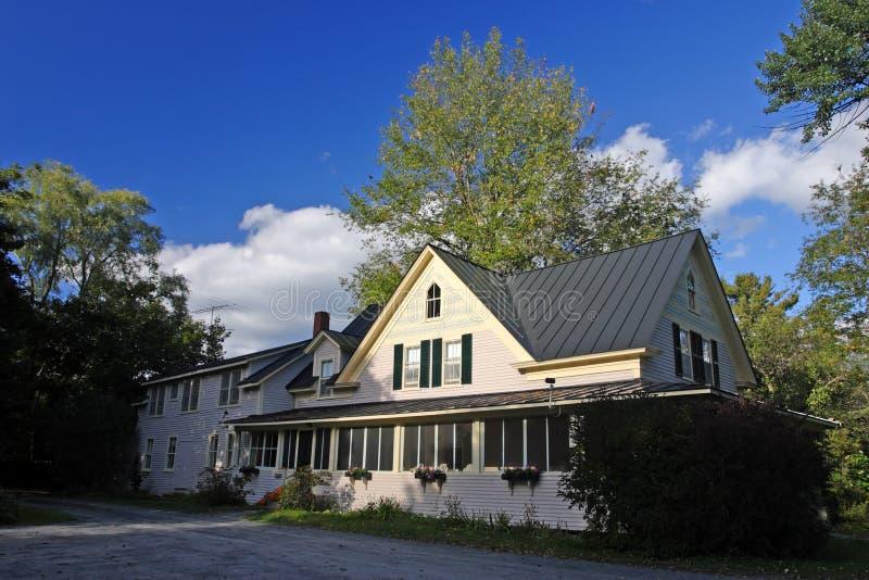 Feuillage d'automne chez le Vermont, Etats-Unis photographie stock libre de droits