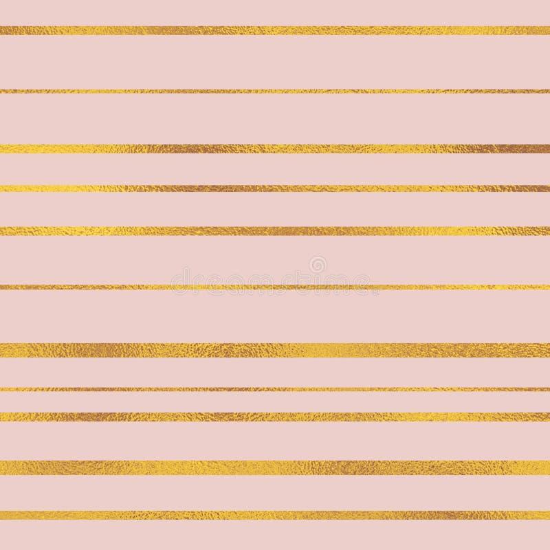 Feuille attrayante de couleur Fond rose sensible de cru Configuration m?tallique Papier numérique en pastel images libres de droits
