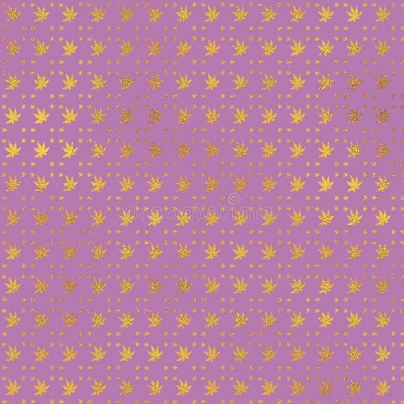 Feuille attrayante de couleur Fond rose sensible de cru Configuration m?tallique Papier numérique en pastel photos libres de droits