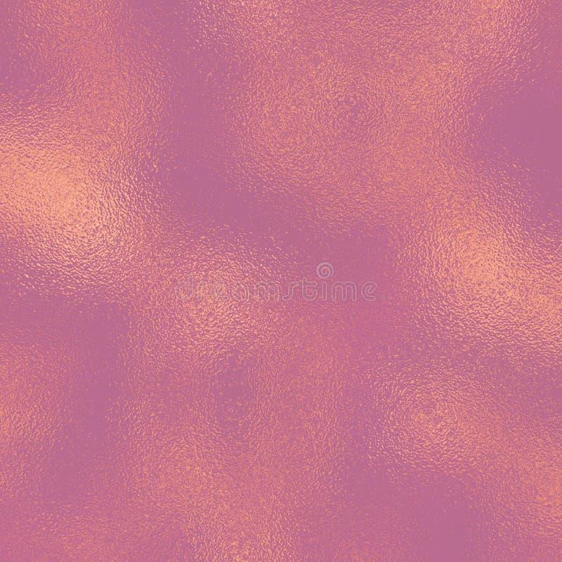 Feuille attrayante de couleur Fond rose sensible de cru Configuration m?tallique Papier numérique en pastel photo libre de droits