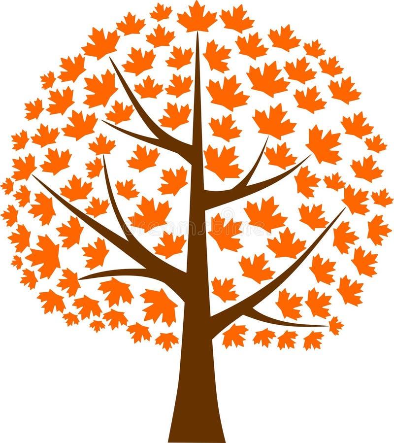 Feuille d'érable d'arbre d'érable illustration stock