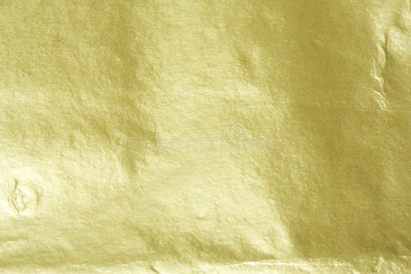 Feuille d'or images libres de droits
