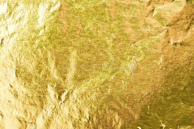 Feuille d'or photo libre de droits