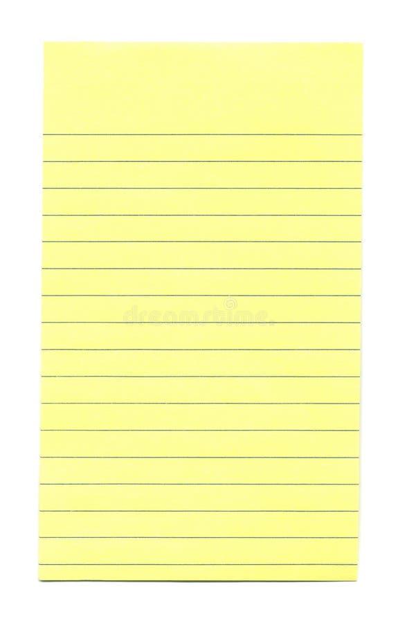 Feuille de Blanc-Papier photo stock