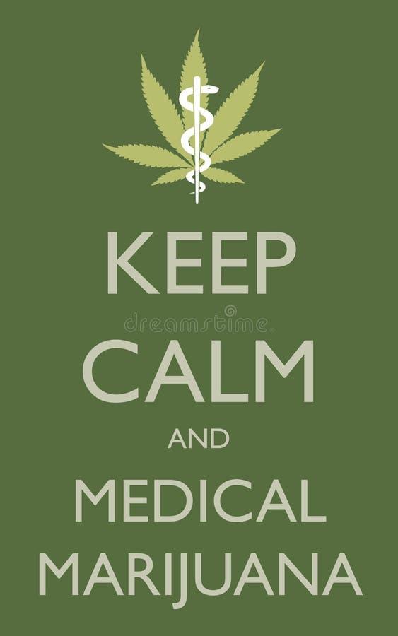 Feuille de cannabis sur le fond blanc illustration stock