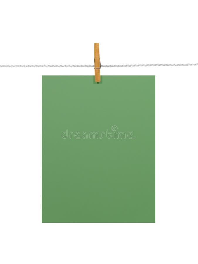 Feuille de Livre vert (+2 coupant images libres de droits