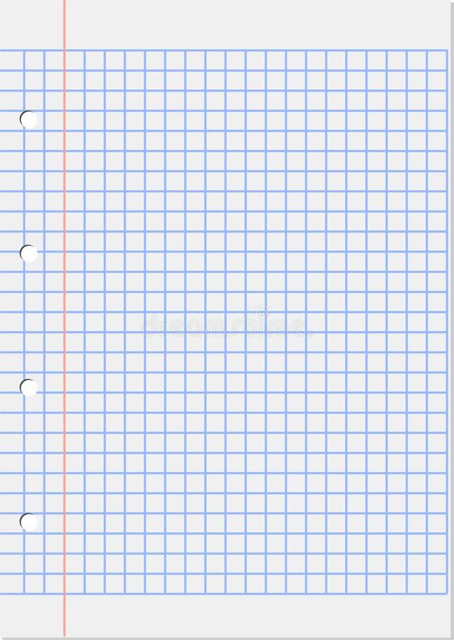 feuille de marge carrée illustration libre de droits