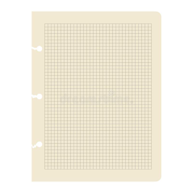 Feuille de papier. illustration libre de droits