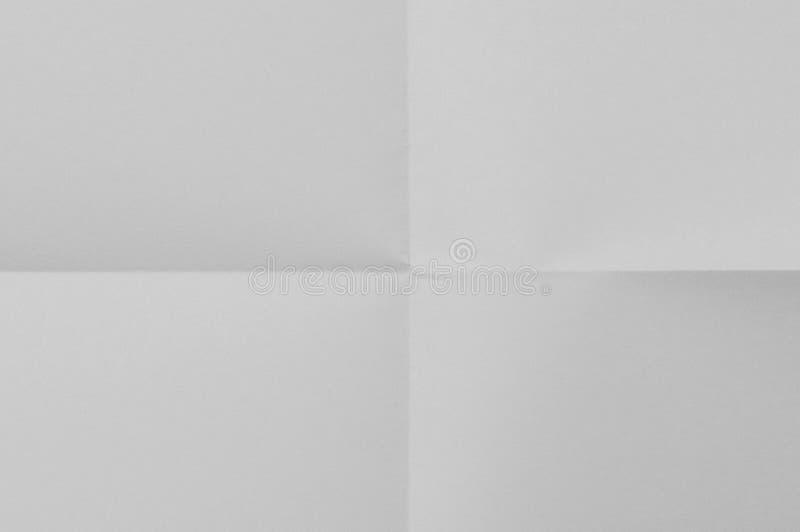 Feuille de papier blanche photographie stock libre de droits