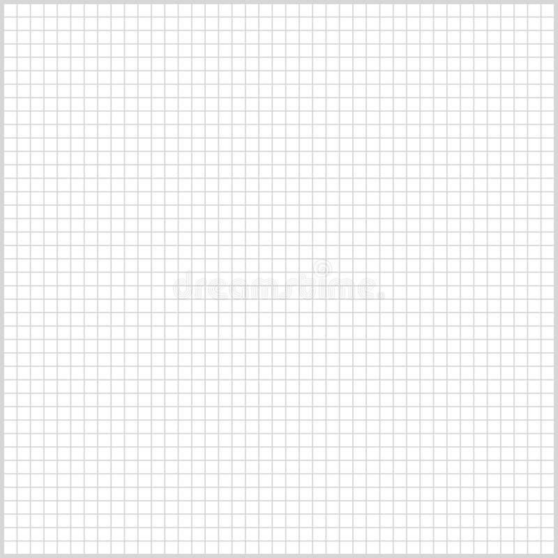 Feuille de papier rayée par fond carré pour la copie ou la conception illustration libre de droits