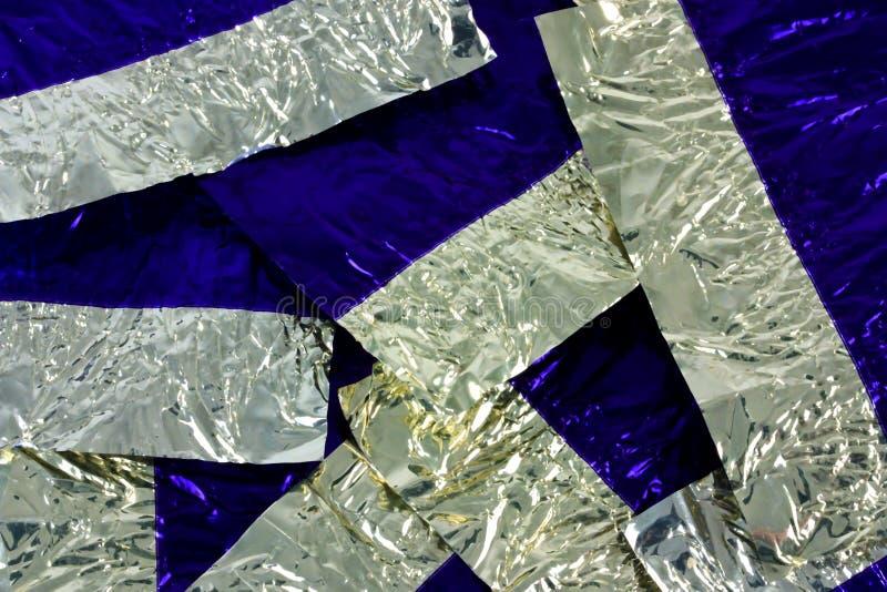 Feuilles D Aluminium Photo libre de droits