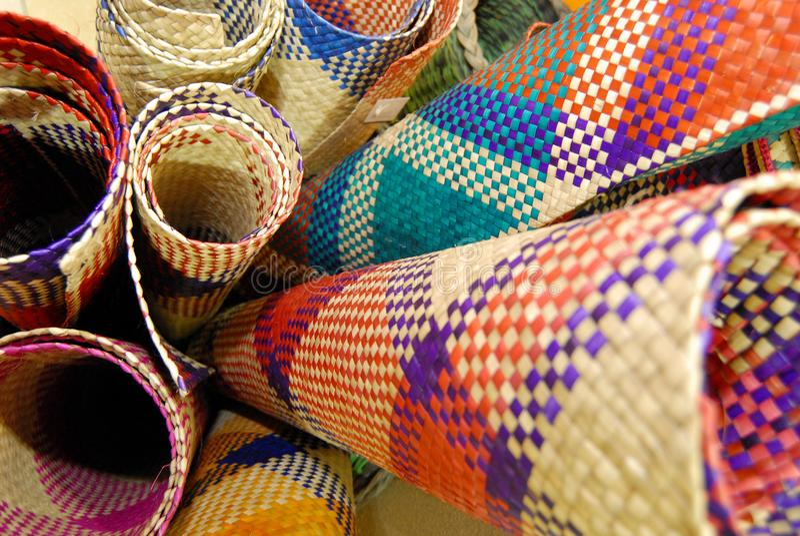 Feuilles ou pandanus de screwpine de Mengkuang image libre de droits
