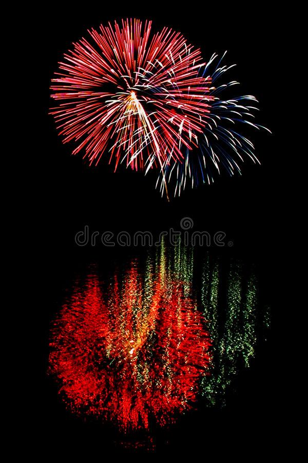 Feux d'artifice 2 photographie stock libre de droits