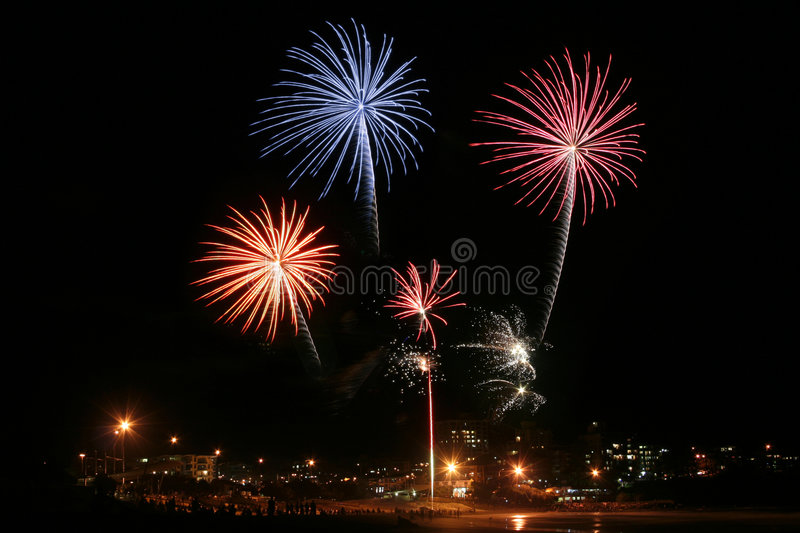 Feux d'artifice #3 photos libres de droits