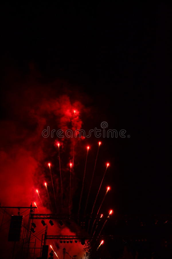Feux d'artifice 5 photo stock