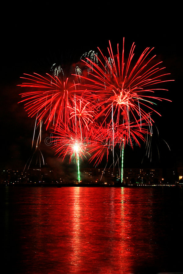 Feux d'artifice 5 photographie stock