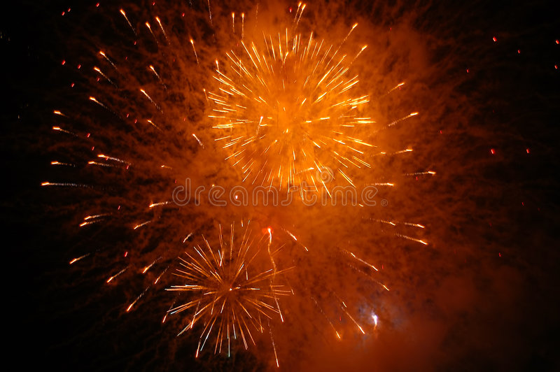 Download Feux d'artifice image stock. Image du explosion, fireworks - 736741