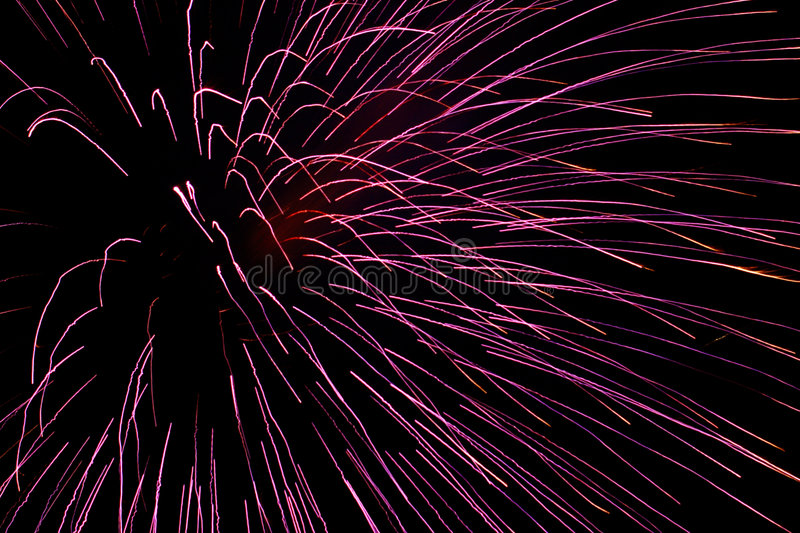 Feux d'artifice 9 photographie stock libre de droits