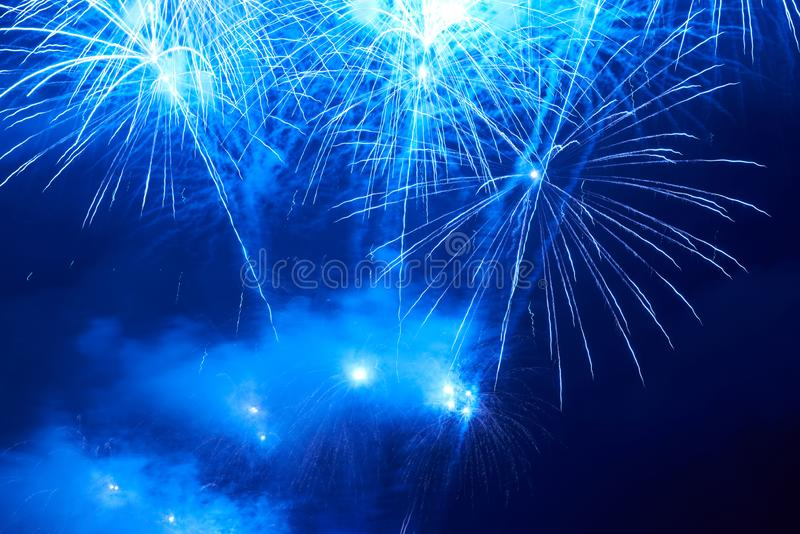 Feux d'artifice color?s image libre de droits