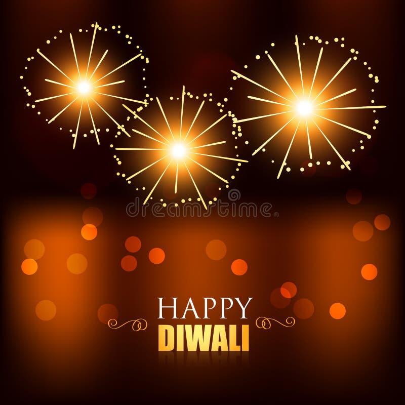 Feux d'artifice de festival de Diwali