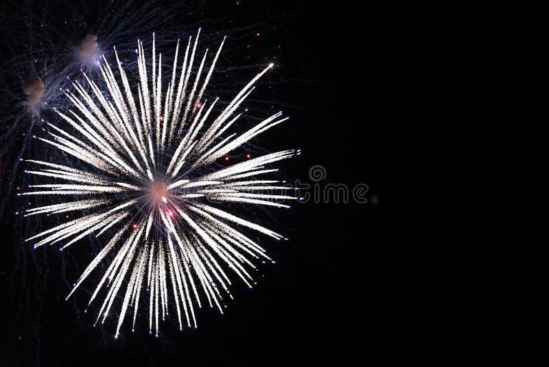 Feux d'artifice, feu d'artifice, fond, nouveau, célébration, vacances, année, événement, festival, anniversaire, le feu, illustra photos stock
