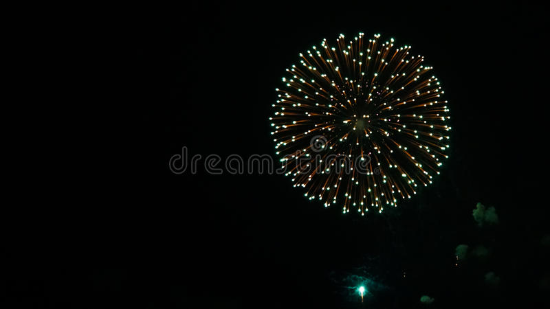 Feux d'artifice IV photographie stock libre de droits