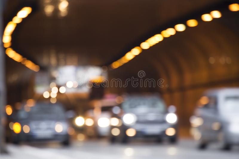 Feux de signalisation Defocused photos stock