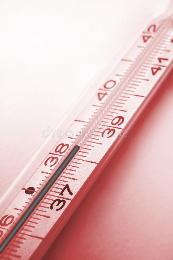 Download Fever - Centigrade Thermometer Stock Photo - Image: 5828786