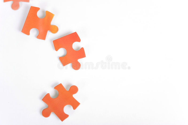 Download Few puzzle pieces stock photo. Image of planning, business - 519400