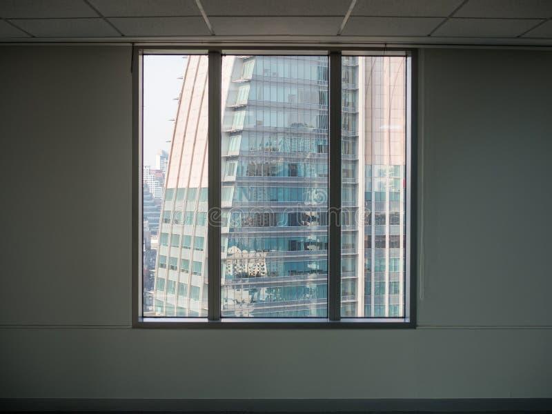 Ffice y opinión del edificio del condominio foto de archivo