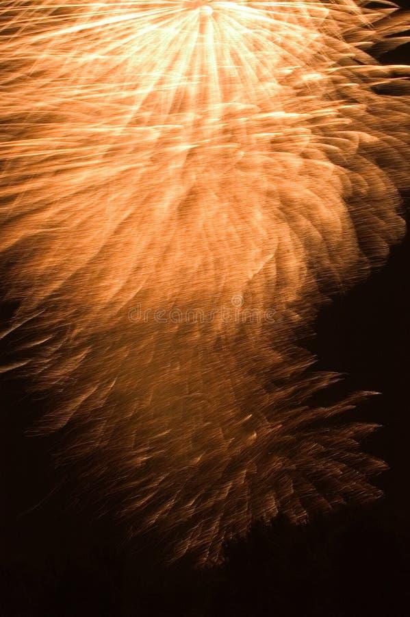 Ffireworks Ogniska Obraz Stock
