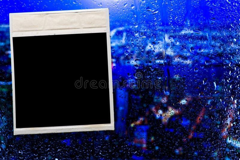 Fhotoframe no vidro fotos de stock royalty free