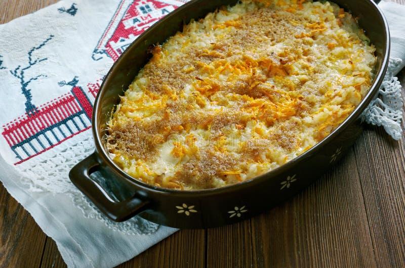 Fińska marchwiana potrawka zdjęcie royalty free