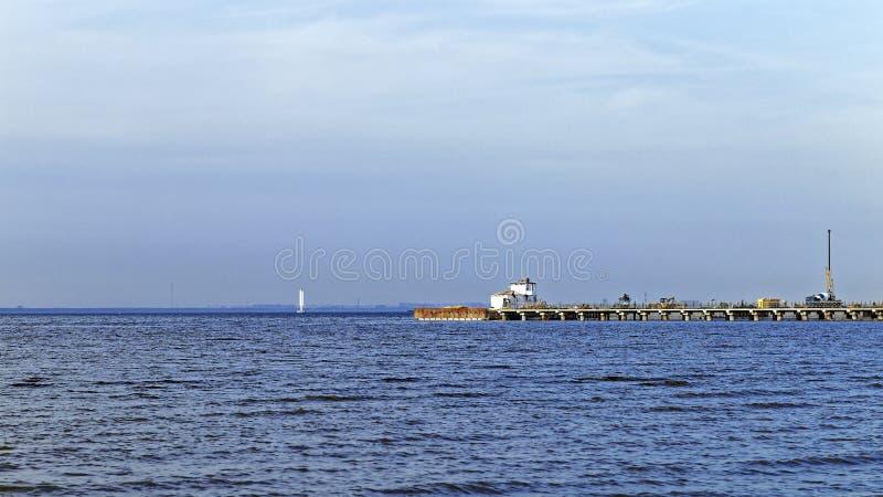 Fińska zatoka przy latem zdjęcia stock