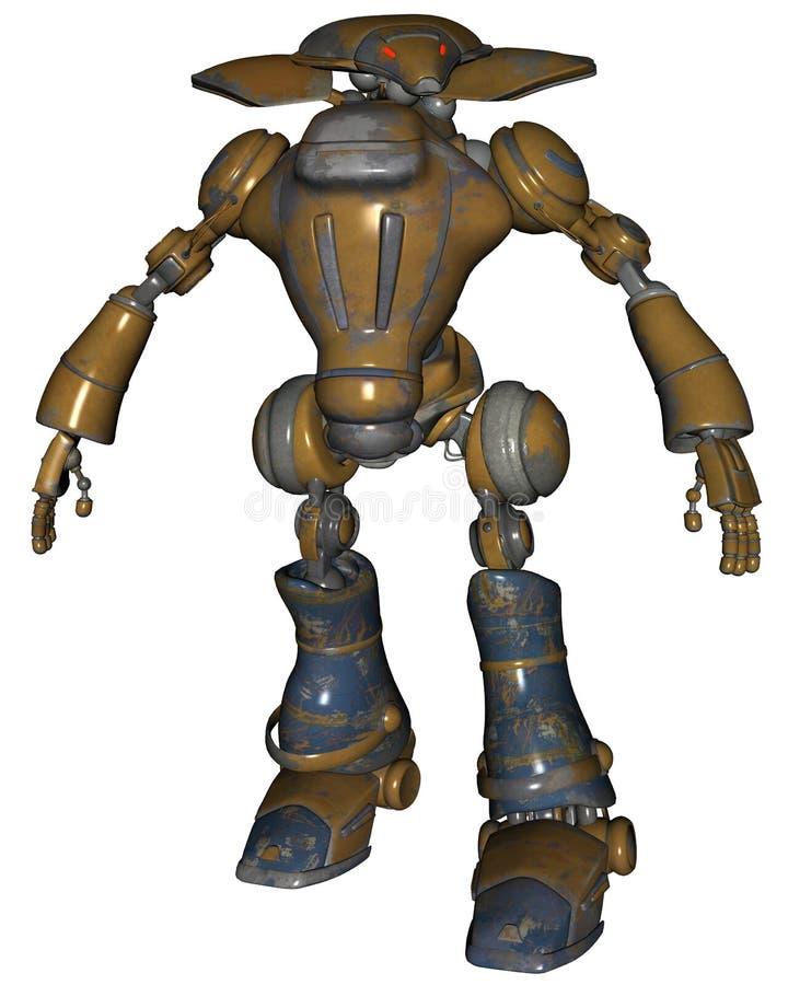 fi机器人sci 向量例证