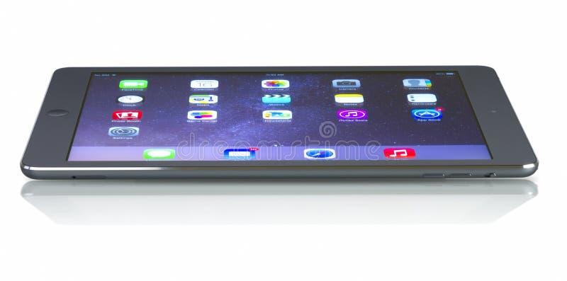 ` Fi +de Wi†del aire del iPad de Applecelular fotografía de archivo libre de regalías