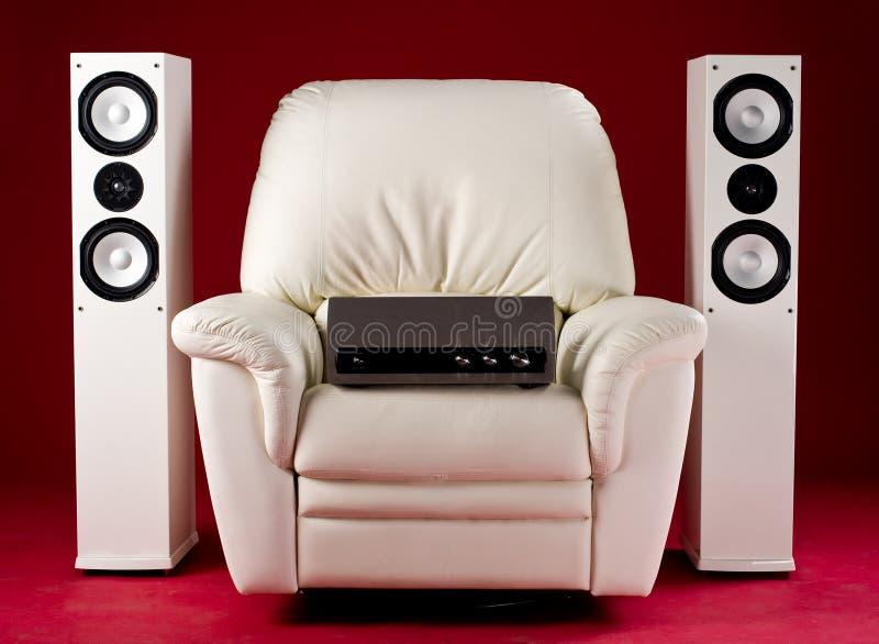 fi stereo - w domu zdjęcia royalty free