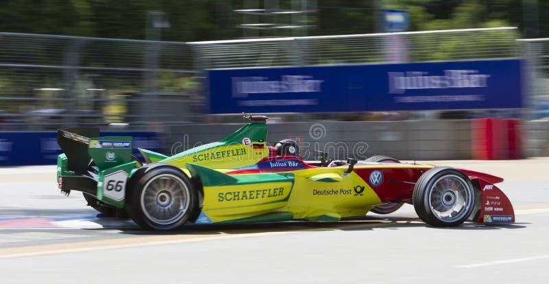 FIA Formula E raceday Putrajaya, Malaysia stock image