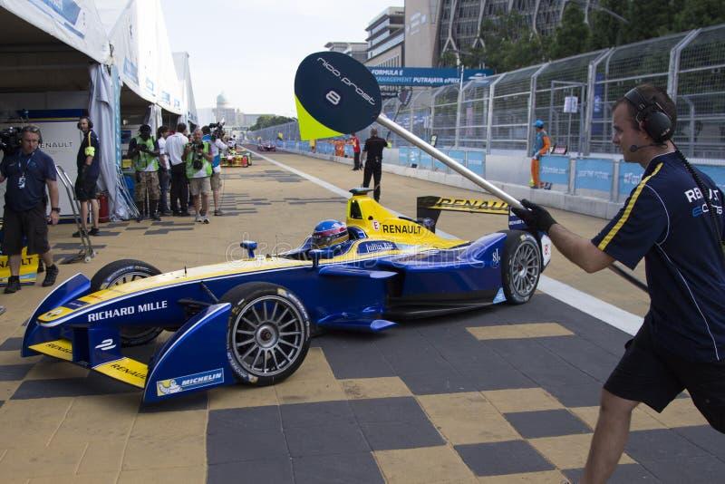 FIA Formula E raceday Putrajaya, Malaysia arkivfoton
