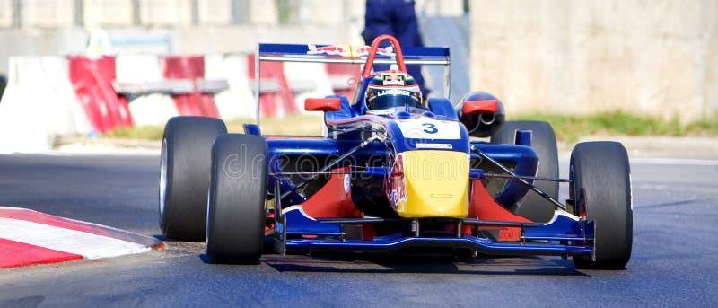 FIA GT race royaltyfria bilder