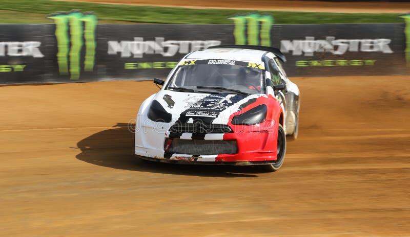 Download FIA World Rallycross Championship Fotografía editorial - Imagen de aceleración, lites: 64209377