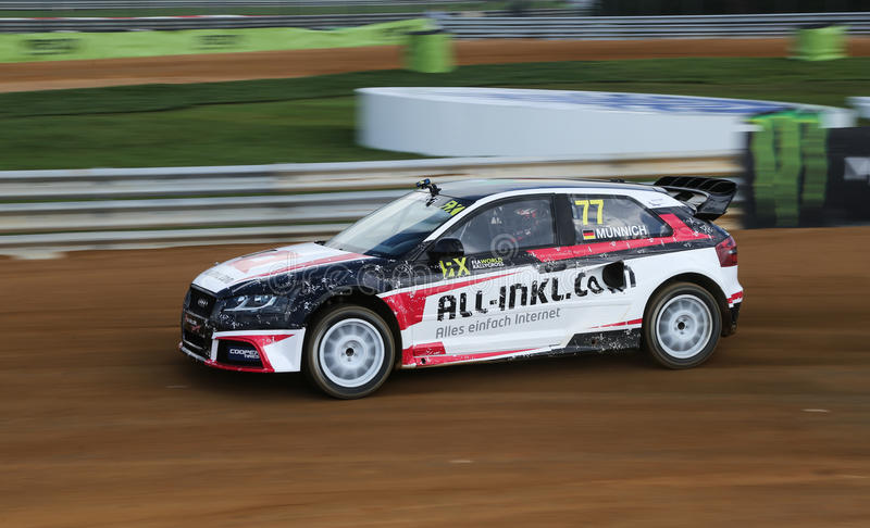 Download FIA World Rallycross Championship Imagen editorial - Imagen de movimiento, raza: 64209545