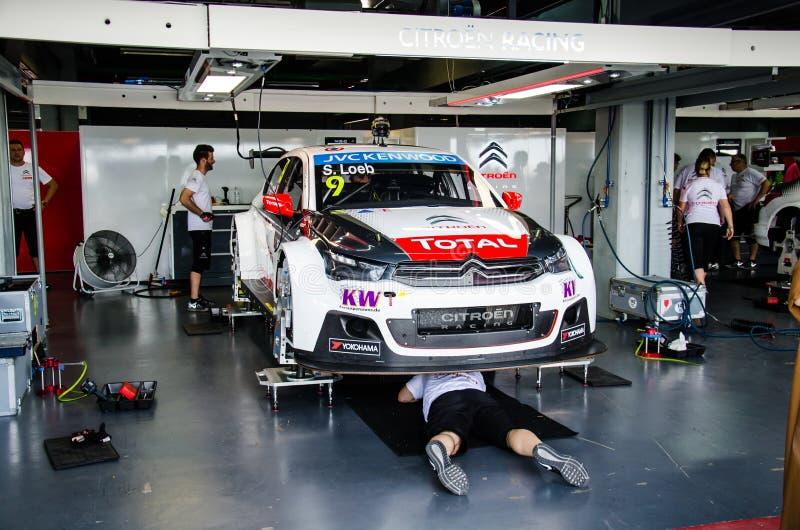 Fia World Touring Car Championship 2015 Redaktionell Foto
