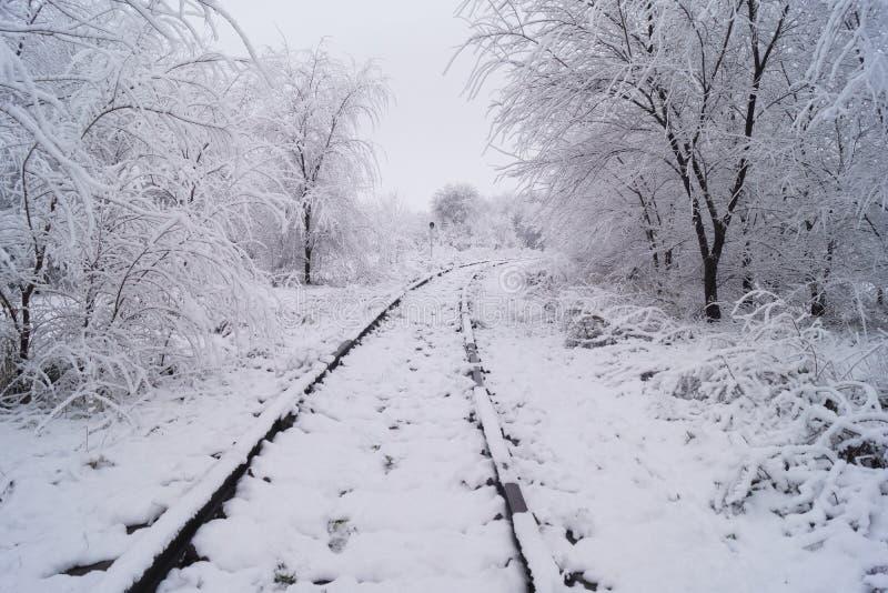 Fiaba di inverno in Russia immagini stock libere da diritti