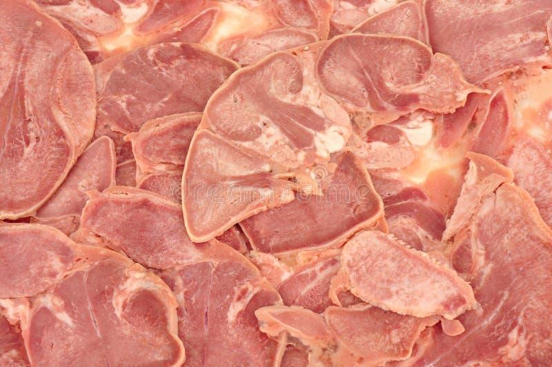 Fiambre de cerdo de la lengua del cerdo foto de archivo libre de regalías