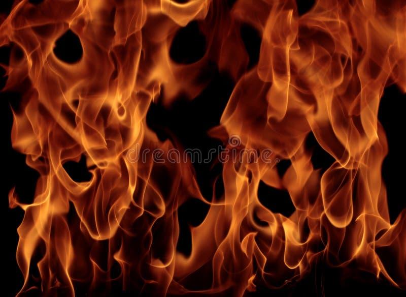 Fiamma del fuoco fotografie stock
