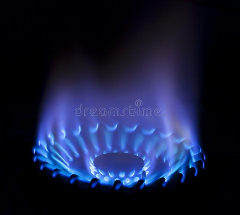 fiamma del gas immagini stock